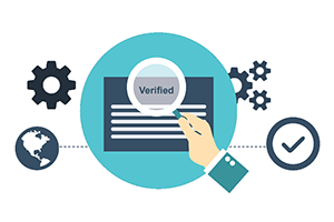 The account verification is an easy process which is recommended to complete before any payments