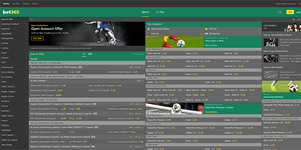 Bet365 sports betting